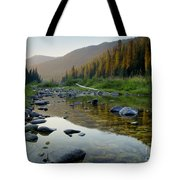 Lochsa Morning Tote Bag