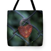 Lock Of Love Tote Bag