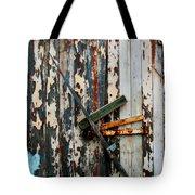 Locked Door Tote Bag by Perry Webster