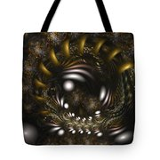 Locked In Nature's Embrace Tote Bag