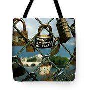 Locked Tote Bag by Milan Mirkovic