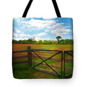 Locked Up Beauty Tote Bag