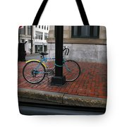 Locked Up In The City Tote Bag