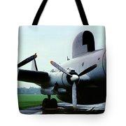 Lockheed Ec-121d Warning Star, Early Warning Aircraft Tote Bag
