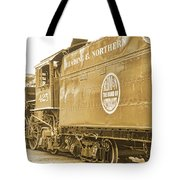 Locomotive And Coal Car Of Yesteryear Tote Bag