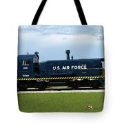 Locomotive For Titan Rockets At Cape Canaveral In  Florida Tote Bag