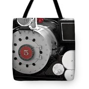 Locomotive Number Five Tote Bag