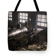 Locomotive Repair Shop - December 1942 Tote Bag
