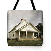 Locust Prairie One Room School Aged Tote Bag
