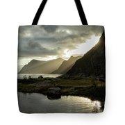 Lofoten Sunset 5 Tote Bag