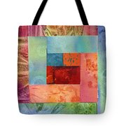 Log Cabin 1003 Tote Bag
