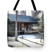 Log Cabin 2 Tote Bag