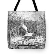 Log Cabin, C1800 Tote Bag
