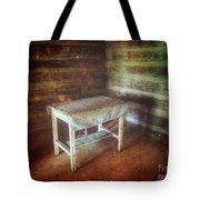 Log Cabin Table Tote Bag