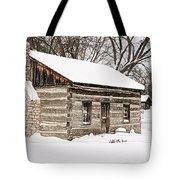 Log Home Tote Bag
