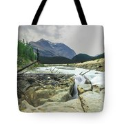 Log Jam Alley Tote Bag