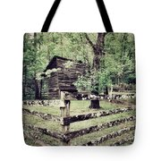 Log Structure For Storage Tote Bag