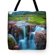 Logan Pass Abyss Tote Bag
