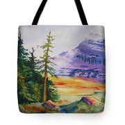 Logan Pass Tote Bag