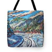 Loggers Road  Tote Bag