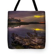 Logging Out Tote Bag