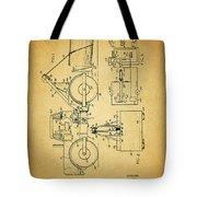 Logging Truck Patent Tote Bag
