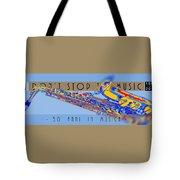 Logo Sax Hd Tote Bag