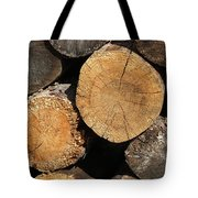 Logs Tote Bag