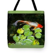 Loi With Lily Pads C Tote Bag