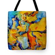 Portrait Of Lois Tote Bag by Chaline Ouellet