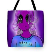 Lol Alien Girl Tote Bag
