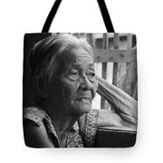 Lola Image Number 33 In Black And White. Tote Bag