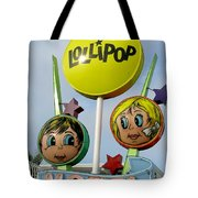 Lollipop Motel - North Wildwood New Jersey Tote Bag