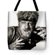 Lon Chaney, Jr. As Wolfman Tote Bag
