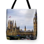 London 4 Tote Bag