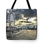 London A View From A Bridge  Tote Bag