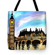 London After Eight Tote Bag