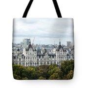London Along The River Thames Tote Bag
