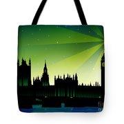London Big Ben Tote Bag by Sandra Hoefer