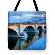 London Bridge At Sunrise Tote Bag