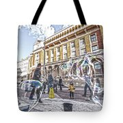 London Bubbles B Tote Bag