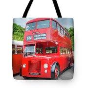 London Bus Tote Bag