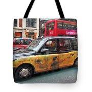 London Busy Street Tote Bag