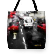 London By Bus Tote Bag