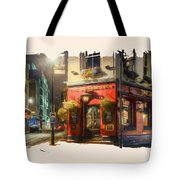 London Cafe Pf Tote Bag