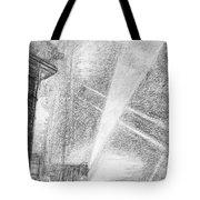 London, Charing Cross.  Tote Bag