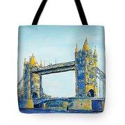 London City Tower Bridge Tote Bag