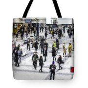 London Commuter Art Tote Bag