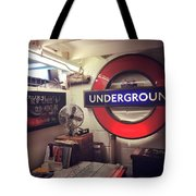 London Details Tote Bag