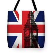 London England Big Ben Tote Bag